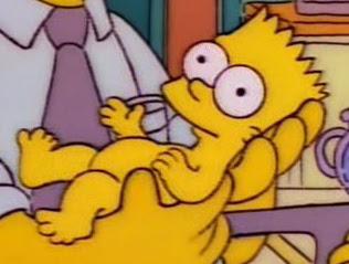 Bart w chwilę po narodzeniu