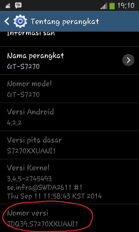 Cara Root Samsung Galaxy Ace3
