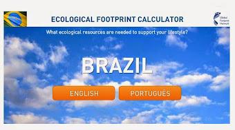 Calcule sua Pegada Ecológica
