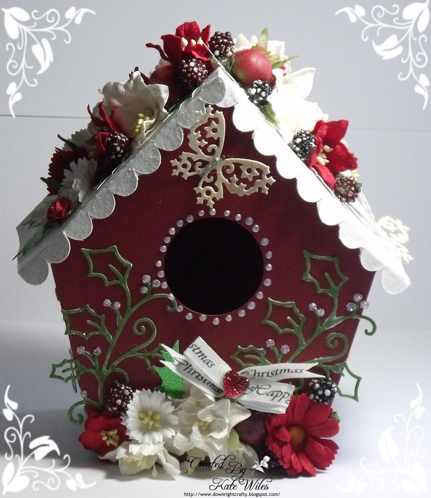 Wild Rose Studio: Christmas Birdhouse