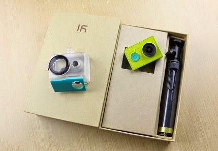 Xiaomi Yi GoPro camera