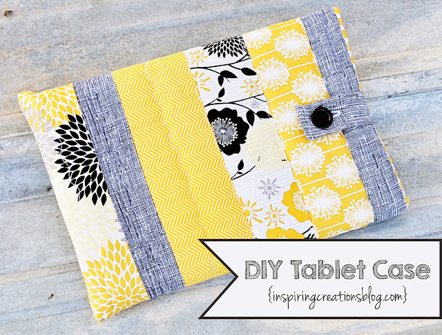 DIY Tablet Case by Inspiring Creations