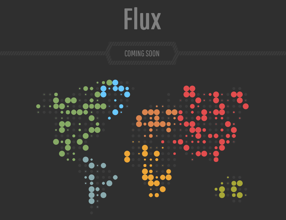 Flux Responsive Coming Soon Blogger Template