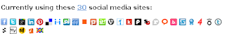 Social networking sites where you can share your url via SocialAdr