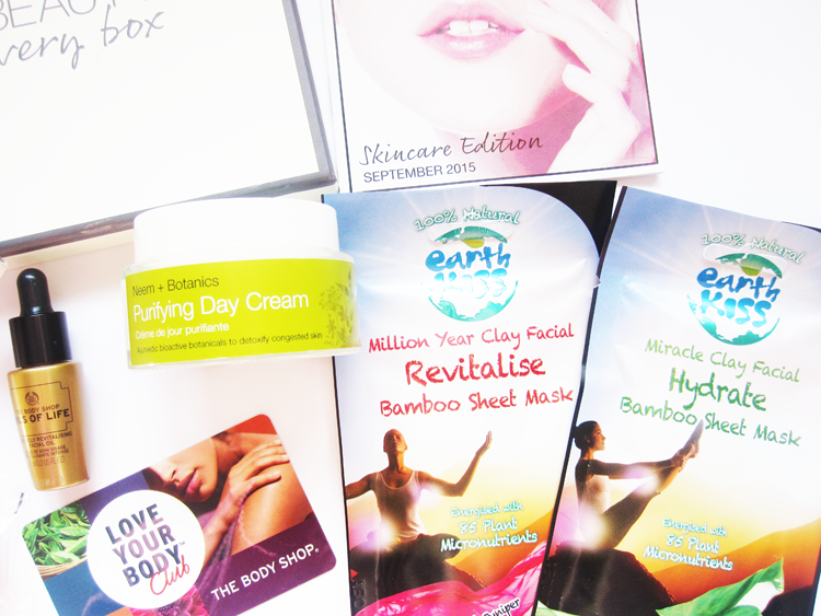 You Beauty Discovery Box - September 2015 review