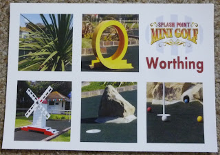 Postcard from Splash Point Mini Golf in Worthing