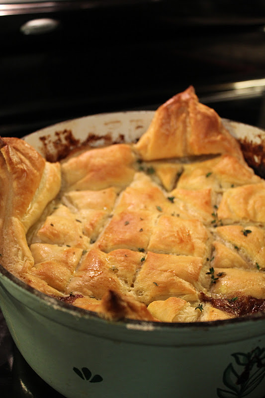short rib wellington potpie - check out my post today on The Loud ...
