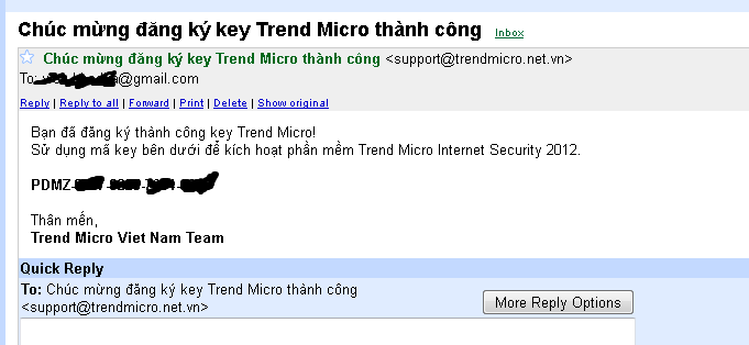 Trend micro activation code free