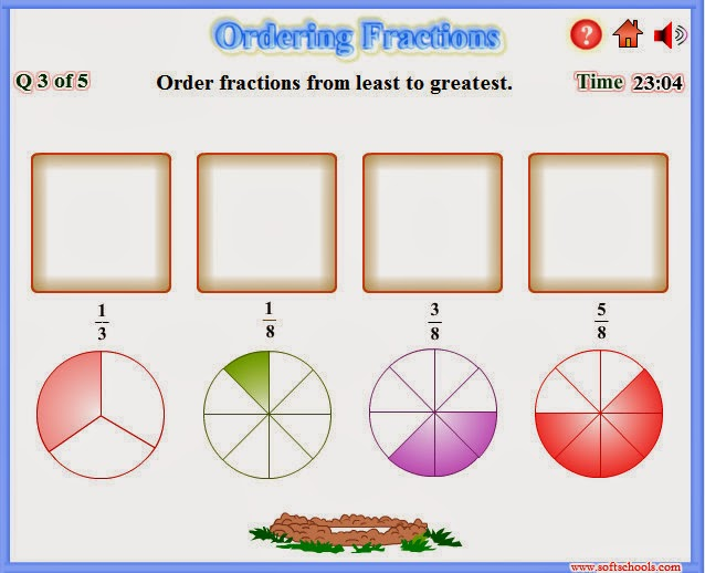 http://www.softschools.com/math/fractions/games/ordering_fractions/
