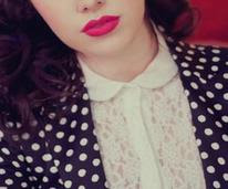 Red Lips and Polka Dots