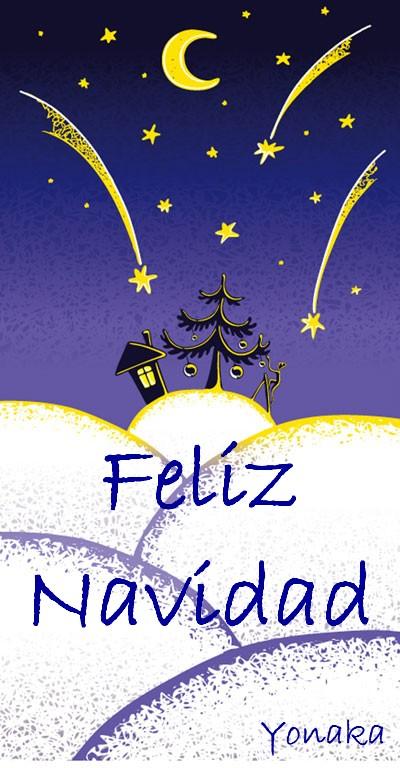 christmas card postal tarjeta navideña