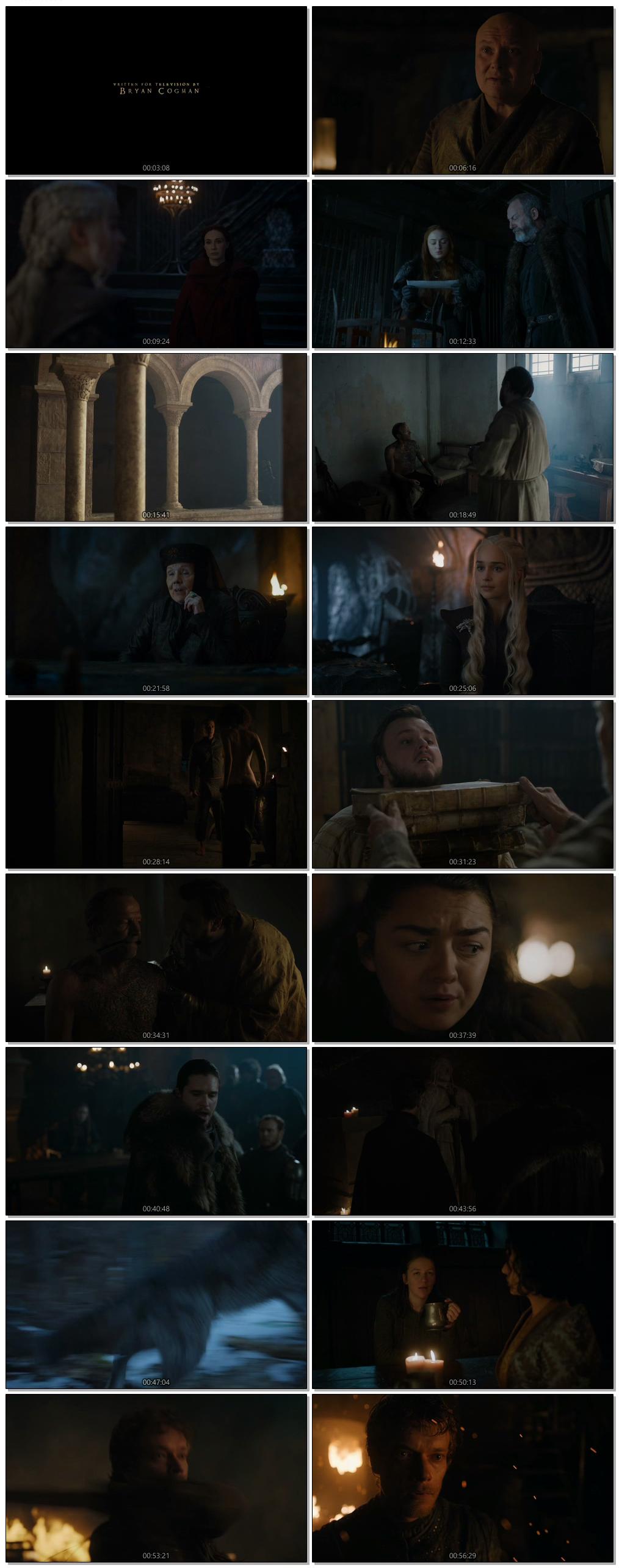 Screen Shot Of Game Of Thrones Season 07 Episode 02 2017 Web-DL 720P 300MB