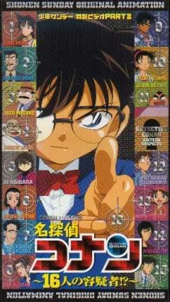 Conan Ova 2 : 16 Nghi Phạm - Detective Conan : 16 Suspects