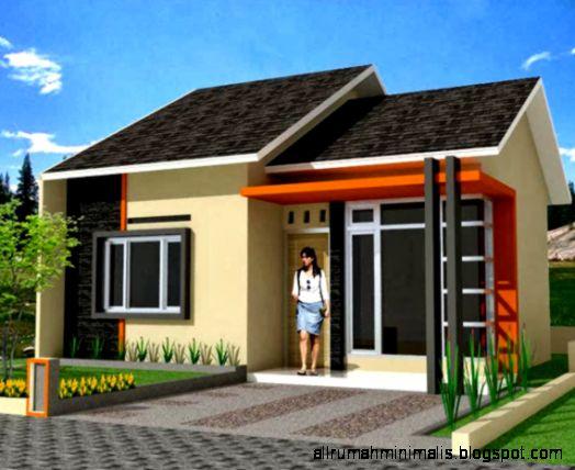 Model Desain Design Gambar Denah Rumah Minimalis Modern