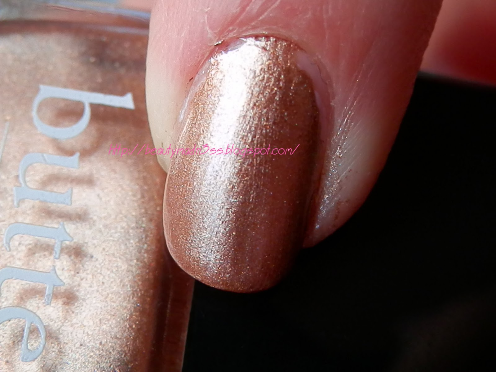 Butter LONDON The Old Bill swatch
