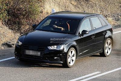 Audi A3 Sportback 2012 : En attendant le Mondial