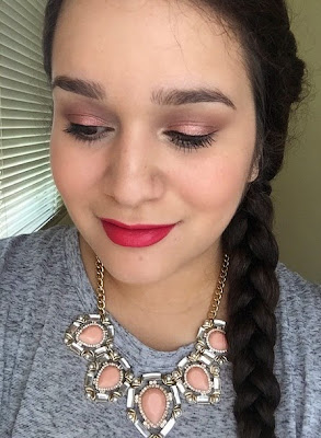 Sephora Luster Matte Long-Wear Lip Color in Rose Luster