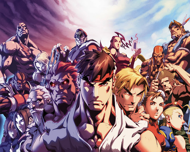 street fighter 4 capcom fighting game