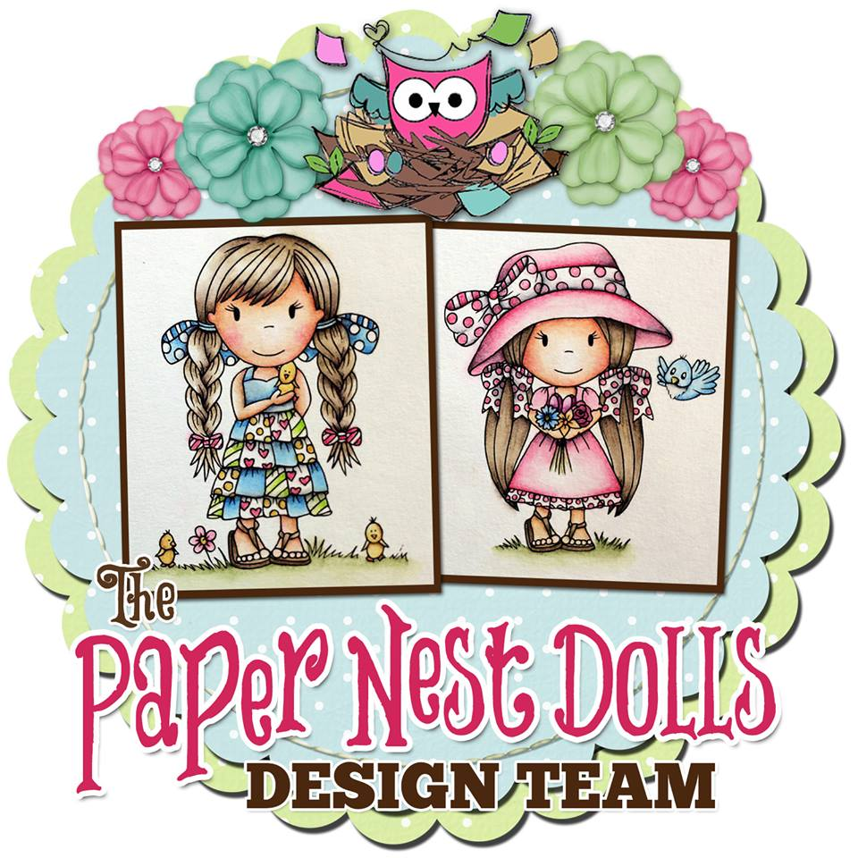 Guest Art Designer for Paper Nest Dolls