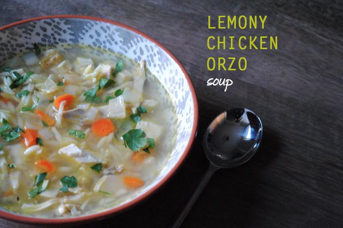 tomatoes tumatos: lemony chicken orzo soup