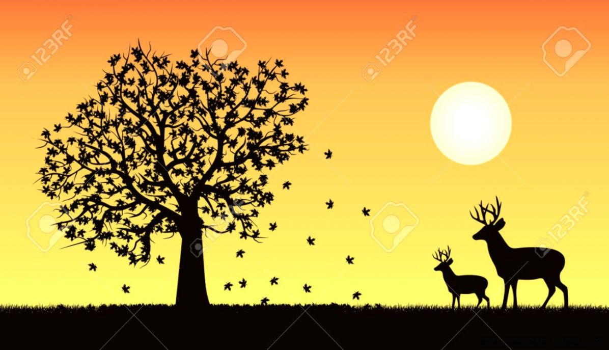 5943 Fall Scene Stock Vector Illustration And Royalty Free Fall