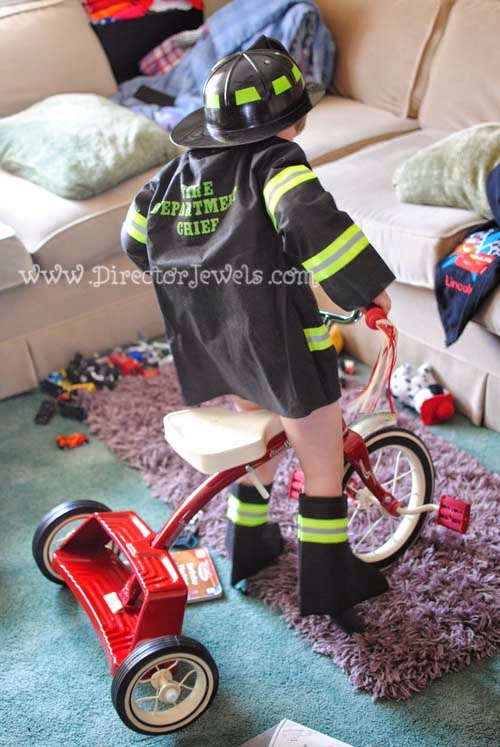 Fireman or Firetruck Birthday Party Decorations and Favors from Oriental Trading Company at directorjewels.com