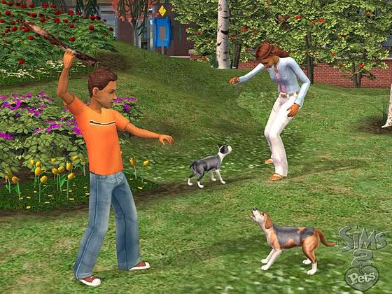احدث العاب الفكاهة والاثارة The Sims 2 Pets كاملة حصريا تحميل مباشر The+Sims+2+Pets+3