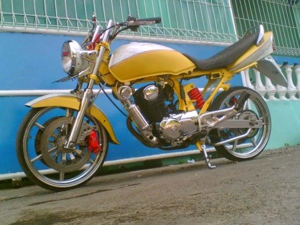 modifikasi motor honda mega pro 2003