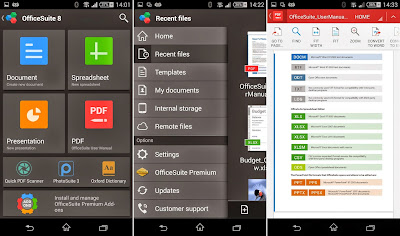 Preview OfficeSuite 8 + PDF Editor | andromin