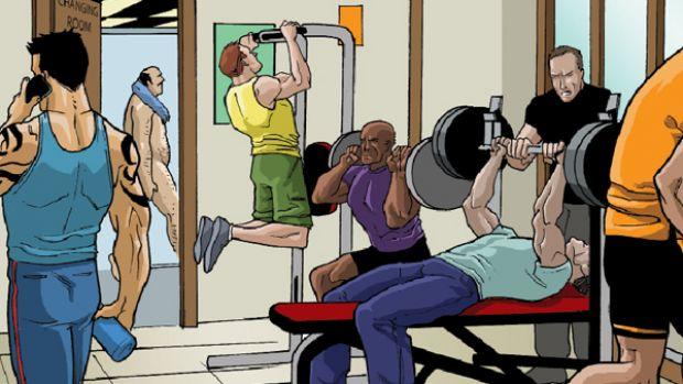 ćwicz siłowo aby zgubić brzuch