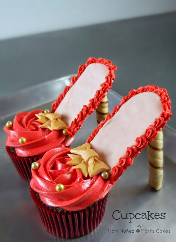 Pictures Of High Heel Cupcakes