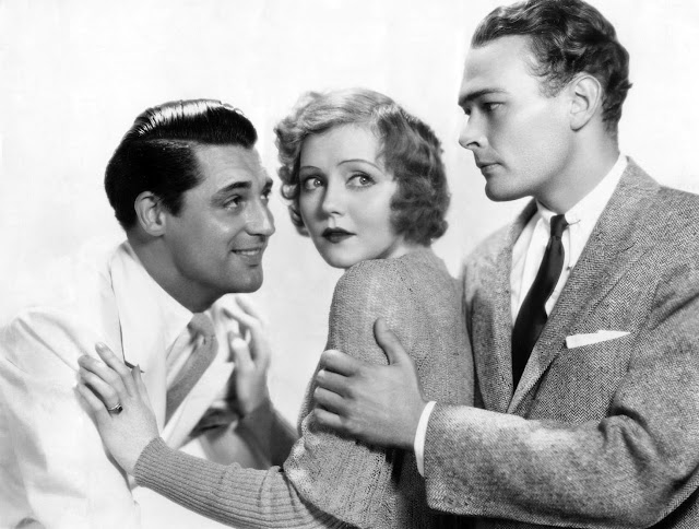 Noir and chick flicks pre code hot saturday 1932 with for Cary grant first movie