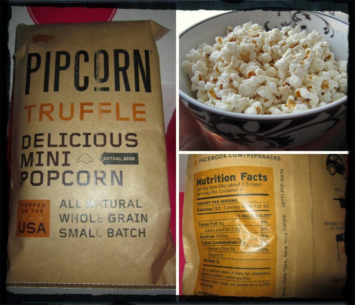 Pipsnacks White Truffle Pipcorn