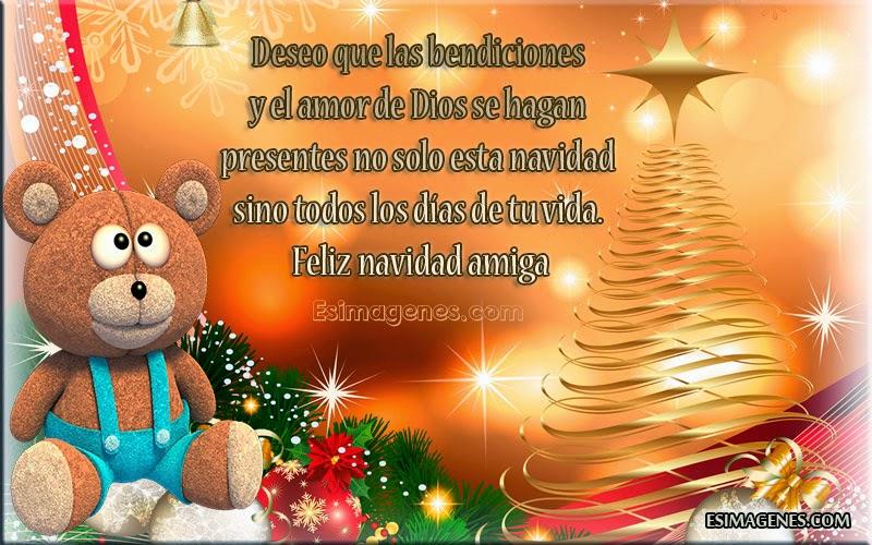Tarjetas y postales bonitas para navidad im genes - Felicitar la navidad a una amiga ...