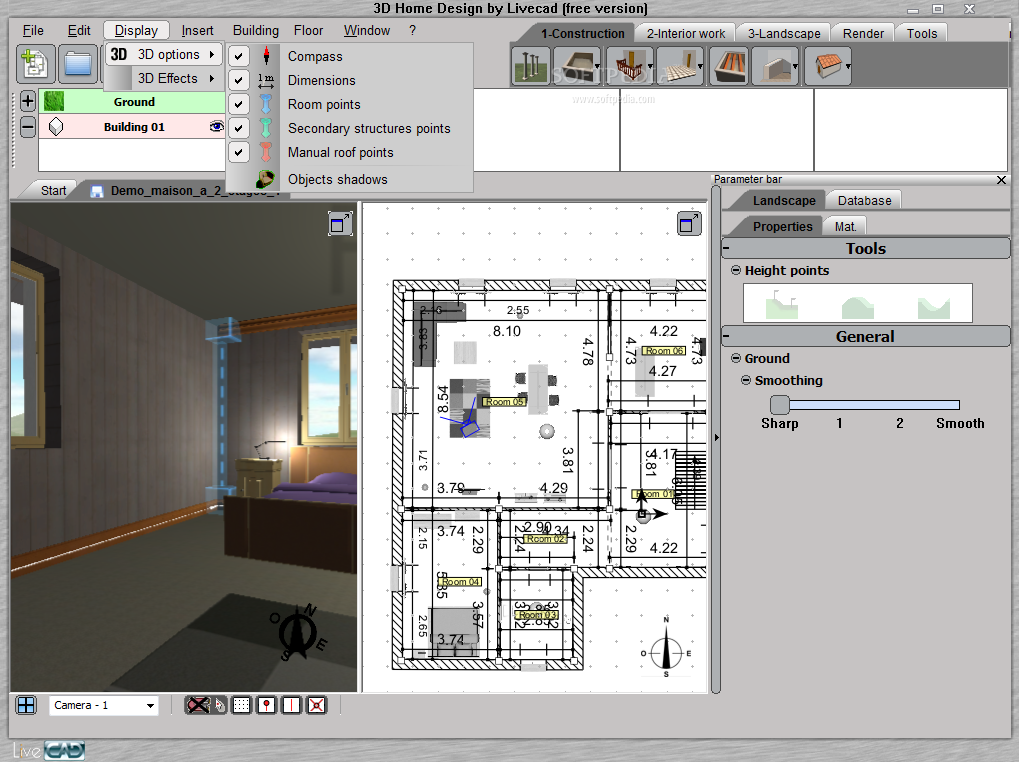3d home designing software star dreams homes for Home architect design software free download