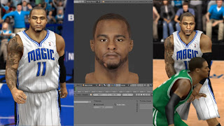 NBA2K13 PC Modding - Glen Davis Patch