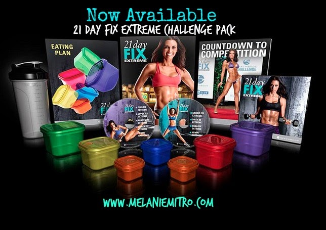 21 day fix extreme challenge pack, get it now, get the 21 day fix extreme, what is the 21 day fix extreme, Melanie Mitro
