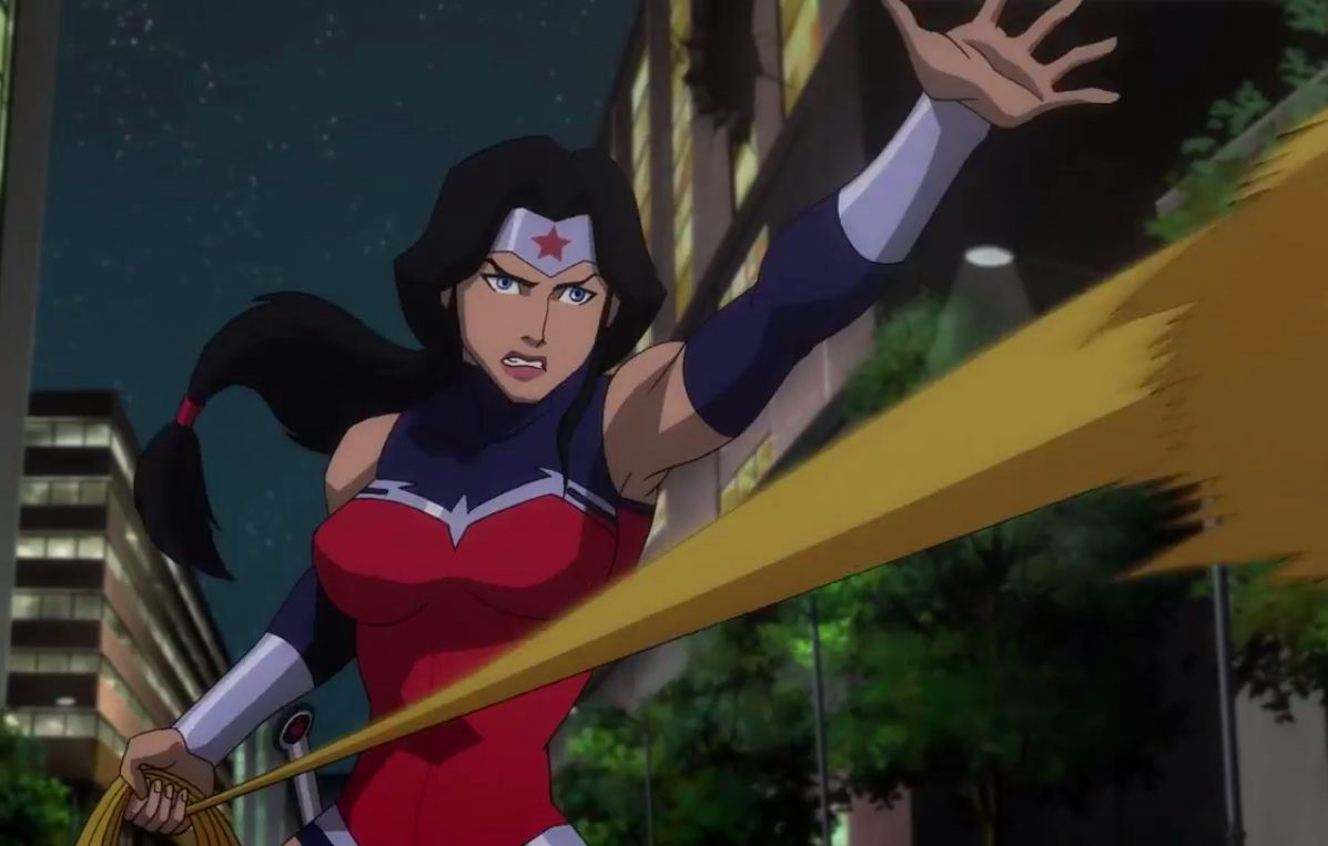 Wonder Woman Rated E  Hentai Flash