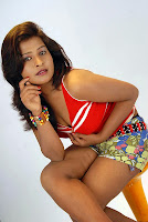 Soujanya Hot Cleavage Expose Photo-Shoot