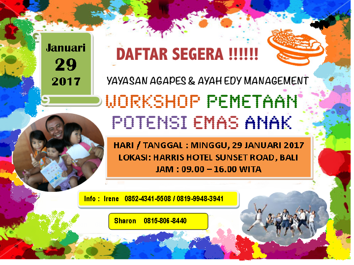 WORKSHOP DI BALI 29 JANUARI 2017