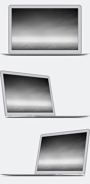 Free MacBook Air PSD Templates mockups