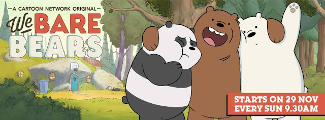 'We Bare Bears' Cartoon Network Upcoming Tv Show Wiki Story |Characters |Game |Title Song |Voices