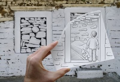 kamera+vs+pencil billyinfo3 Ilustrasi Kamera vs. Lukisan Pensil Yang Menakjubkan