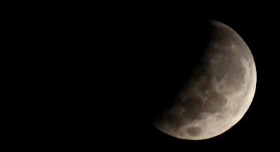 Eclipse parcial de Luna 04 de Junio de 2012