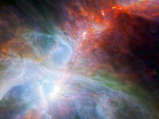 Яркие краски туманности Ориона