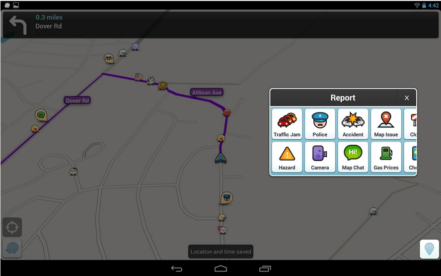 Waze_Android GPS app