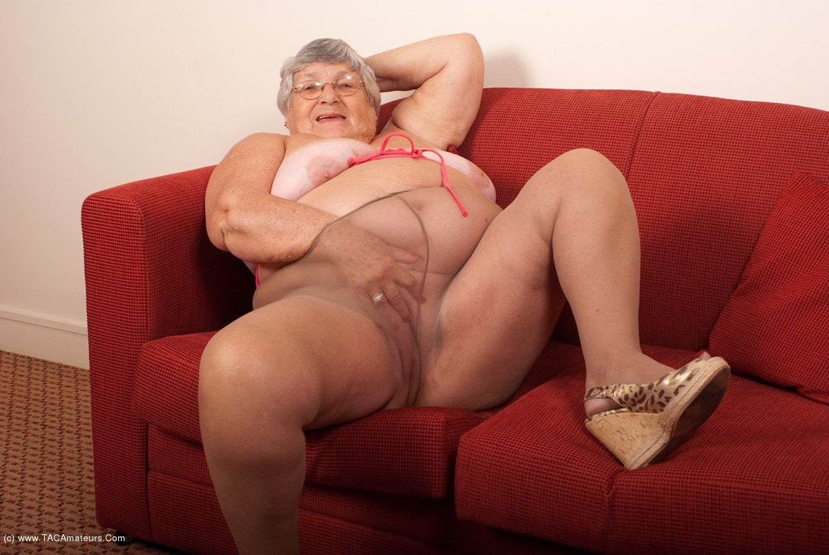 Are Grandmother pantyhose masturbate pictures that