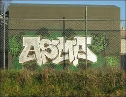 La palabra mas famosa de el graffiti