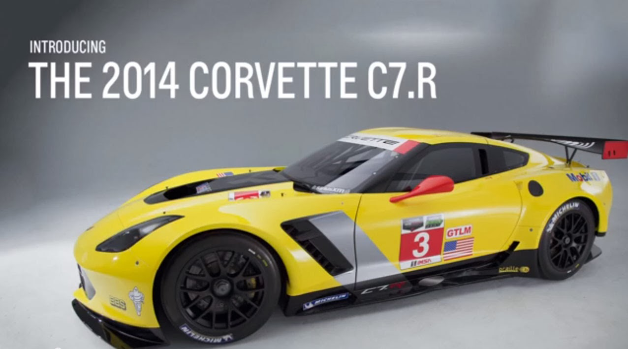 C7 corvette slot car