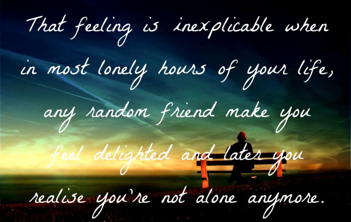 Quotes Lonely Free Wallpaper | HD Wallpapers Gallery